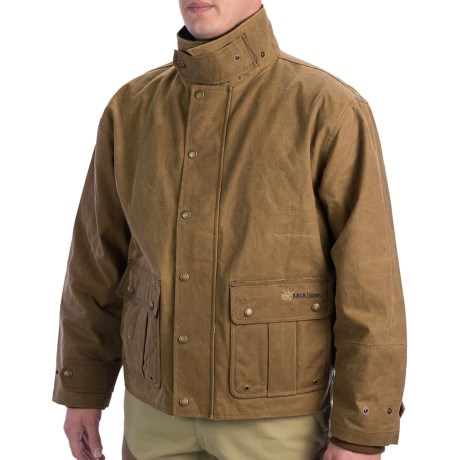 Mcalister Waxed Canvas Field Jacket For Men 6897v Save 32