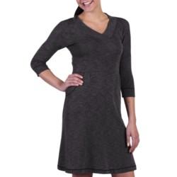 ExOfficio Chica Cool Dress - UPF 20+, V-Neck, 3/4 Sleeve (For Women)