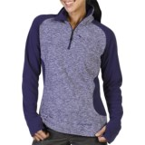 ExOfficio Tesserae Fleece Pullover - Zip Neck, Long Sleeve (For Women)