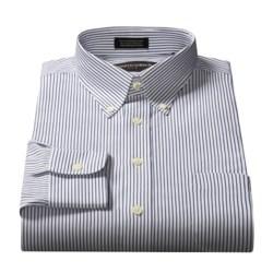 Kenneth Gordon Solid Button-Down Collar Dress Shirt - Long Sleeve (For Men)