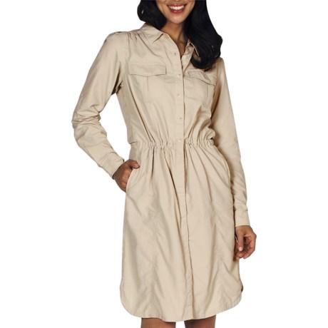 ExOfficio Geotrek'r Dress - UPF 30+, Long Sleeve (For Women)