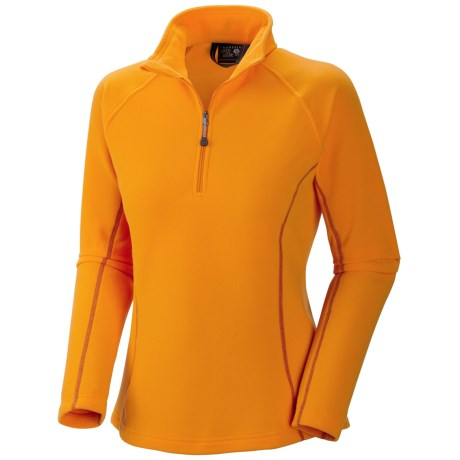 Mountain Hardwear Microchill Fleece Jacket - Zip Neck, Long Sleeve (For Women)