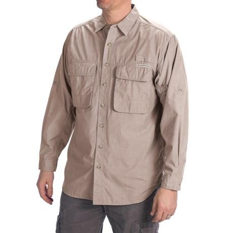 ExOfficio BugsAway® Baja Shirt - UPF 30+, Long Sleeve (For Men)