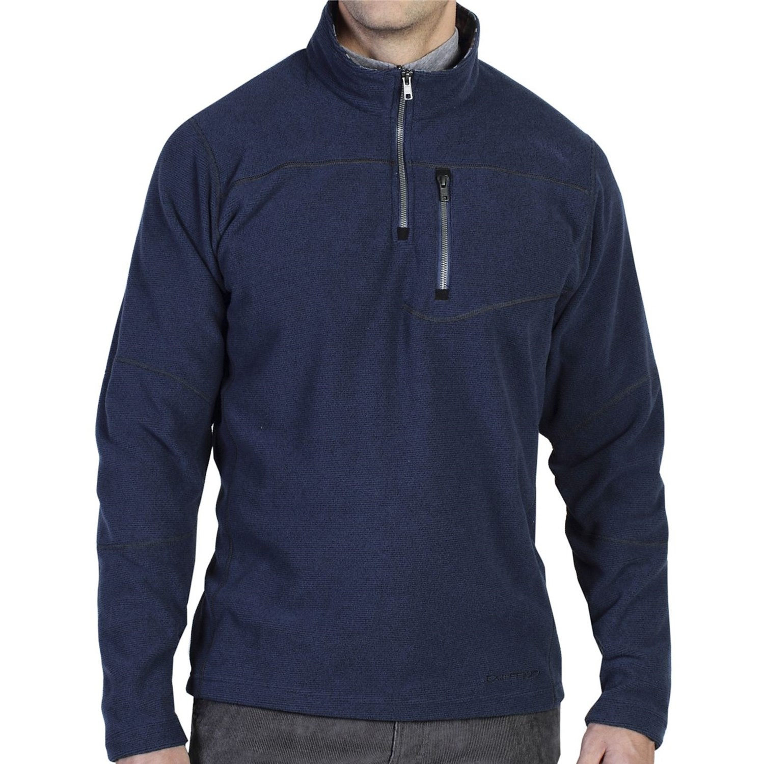 Exofficio zeeland pullover shirt for men 6908x save 80 for Mens long sleeve pullover shirts