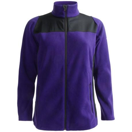 Columbia Sportswear Hybrid Fleece Jacket (For Plus Size Women)