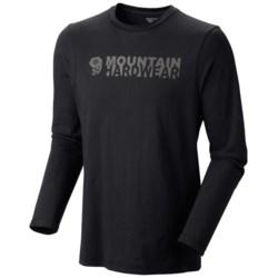 Mountain Hardwear MHW Logo II T-Shirt - Long Sleeve  (For Men)