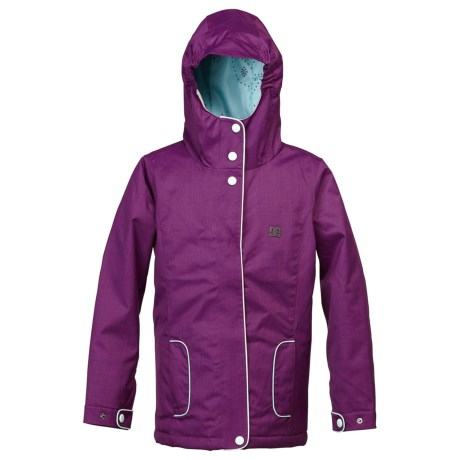 DC Shoes Data Snowboard Jacket - Insulated (For Girls)