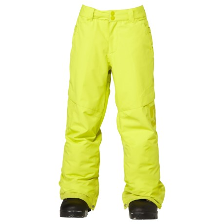 DC Shoes Banshee Snowboard Pants - Insulated (For Boys)