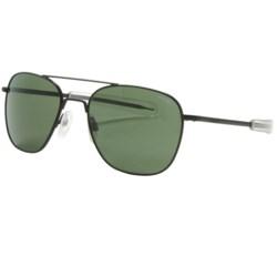 Randolph Aviator Sunglasses - 58mm Glass Lenses