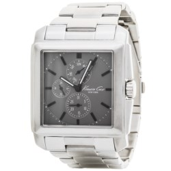 Kenneth Cole New York Square-Faced Watch (For Men)
