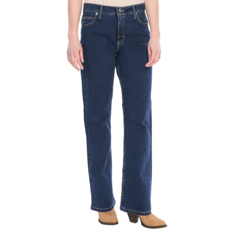Specially made Relaxed Fit Straight Leg Jeans (For Women)
