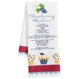 DII Berry Sweet Printed Recipe Dish Towel