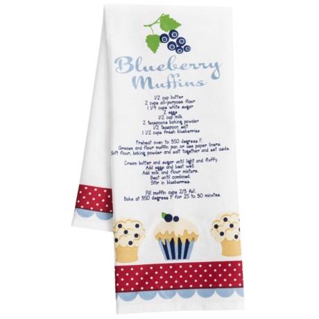 DII Berry Sweet Printed Recipe Dish Towel