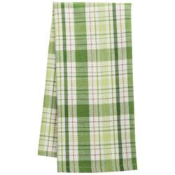 DII Shamrock Plaid Dish Towel