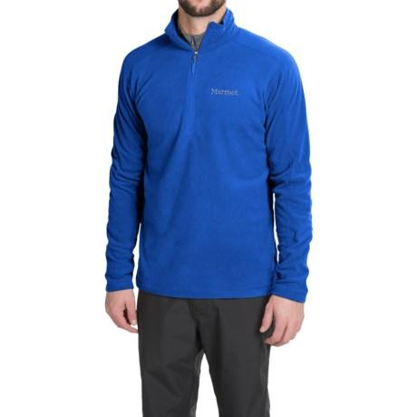 Marmot Rocklin Fleece Shirt - Zip Neck, Long Sleeve (For Men)