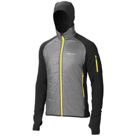 Marmot Alpinist Hybrid Jacket - Polartec® Power Stretch®, Insulated (For Men)