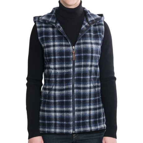 Woolrich Vista Vest - Wool, Hooded (For Women)
