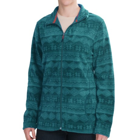 Woolrich Printed Andes Jacket - Fleece (For Women)
