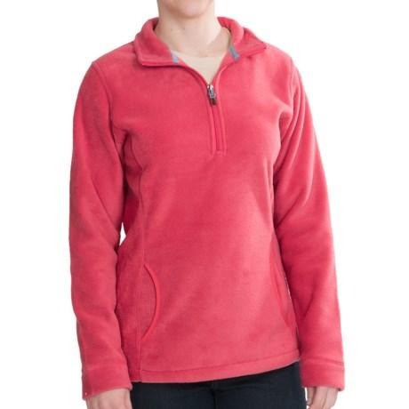 Woolrich Andes Fleece Zip Pullover (For Women)
