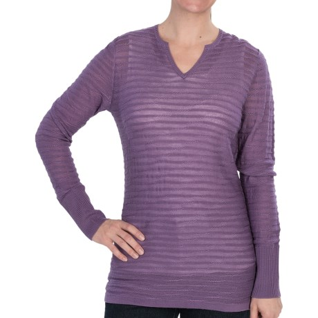 Woolrich Tidewater Sweater - Sheer (For Women)