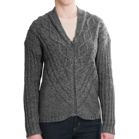 Woolrich Interlaken Cardigan Sweater - Full Zip (For Women)