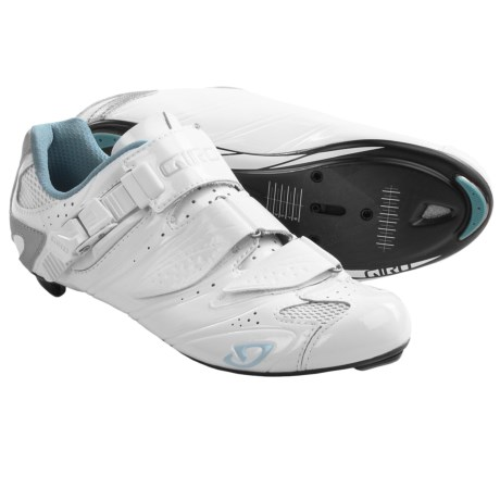 Giro Factress Road Cycling Shoes - 3-Hole (For Women)