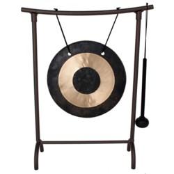 """Woodstock Chimes Zen Table Gong - 9x12"""""""