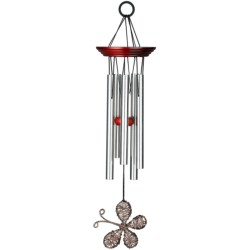 """Woodstock Chimes Encore Collection Winged Wind Chime - 15"""""""