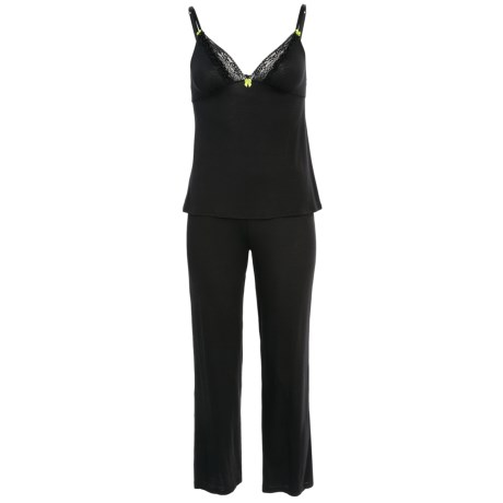 Betsey Johnston Luscious Lite Pajamas - Stretch Rayon, Spaghetti Strap, V-Neck (For Women)