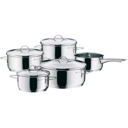 WMF Casa Cookware Set - Cromargan® 18/10 Stainless Steel, 9-Piece
