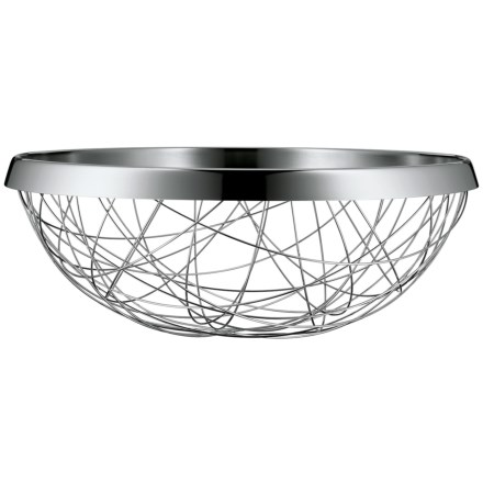 WMF Lounge Living Serving and Decor Basket - 18/10 Stainless Steel in Chaos - Overstock