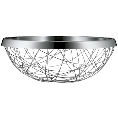 WMF Lounge Living Serving and Decor Basket - 18/10 Stainless Steel