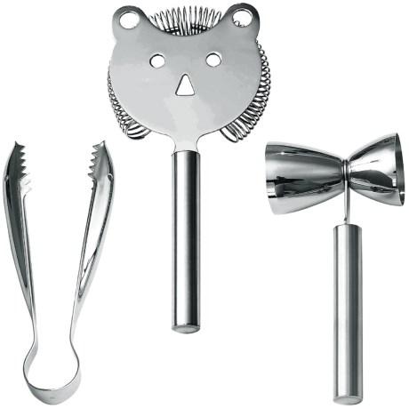 WMF Faces Bartender Set - Cromargan® 18/10 Stainless Steel, 3-Piece