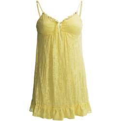 Betsey Johnson Floral Burnout Nightgown - Spaghetti Strap (For Women)