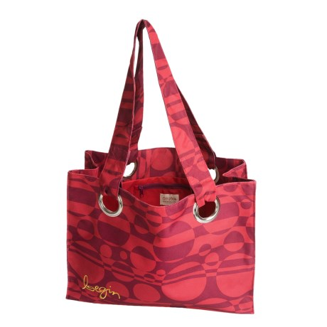 iota Large Beach Tote Bag - Nylon Canvas
