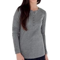 Royal Robbins Cottonwood Henley Shirt - Long Sleeve (For Women)