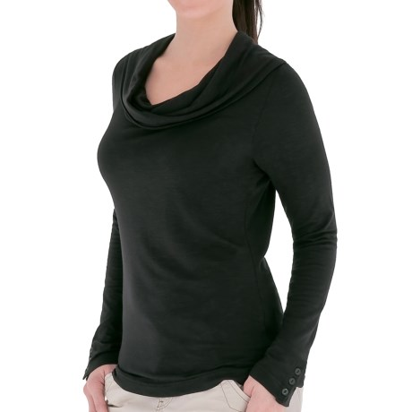 Royal Robbins Nabru Cowl Neck Shirt - Micromodal®, Long Sleeve (For Women)