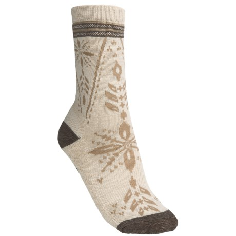SmartWool Split Snowflake Socks - Merino Wool, Crew (For Men and Women)