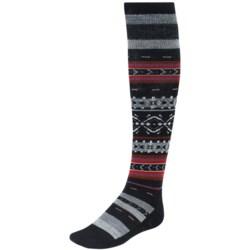 SmartWool Fairview Fair Isle Socks - Merino Wool, Over-the-Calf (For Women)