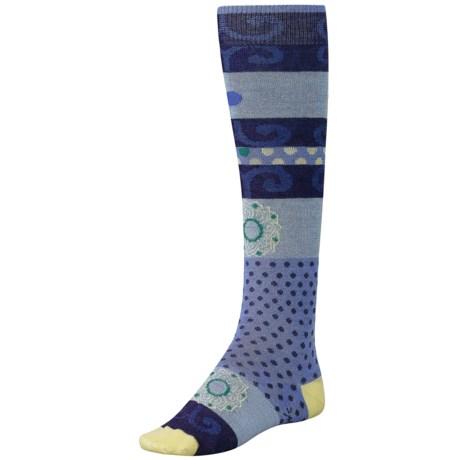 SmartWool Tap Dot Socks - Merino Wool, Over-the-Calf (For Girls)