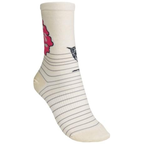 SmartWool Flowering Lark Socks - Merino Wool (For Women)