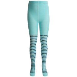 SmartWool Dappled Tights - Merino Wool (For Girls)