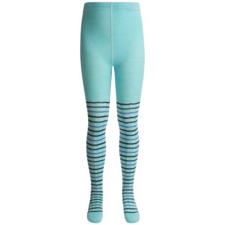 SmartWool Dappled Tights - Merino Wool (For Girls)