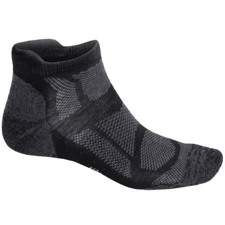 SmartWool Outdoor Sport Light Socks - Merino Wool, Below the Ankle (For Women) in Black - 2nds
