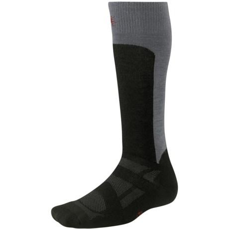 SmartWool 2013 Medium Cushion Ski Socks - Merino Wool, Over the Calf (For Men and Women)