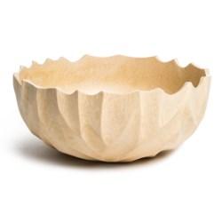 """Enrico Ropetwist Bowl - Mango Wood, 4x10"""""""