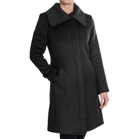 Cole Haan Envelope Collar Coat - Wool Blend (For Women)