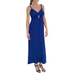 She's Cool Luxury ITY Maxi Dress - Sleeveless (For Women)