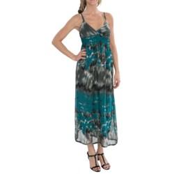 She's Cool She's Cool Chiffon Maxi Dress - Sleeveless (For Women)