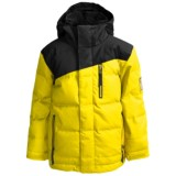 Bonfire Troop Solid Down Jacket - 450 Fill Power (For Youth)